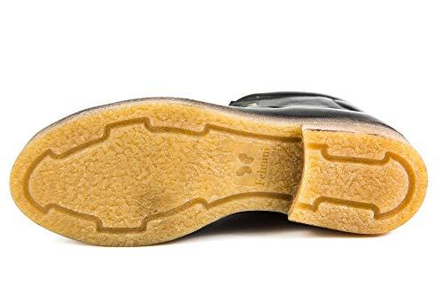 Lisa Original Felmini Mujer Zapatos de Para FM Samples 098 Cordones EU 37 de Negro Piel Negro qHdzpHPw