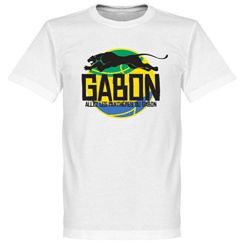 Gabon-Maglietta con Logo, colore: bianco
