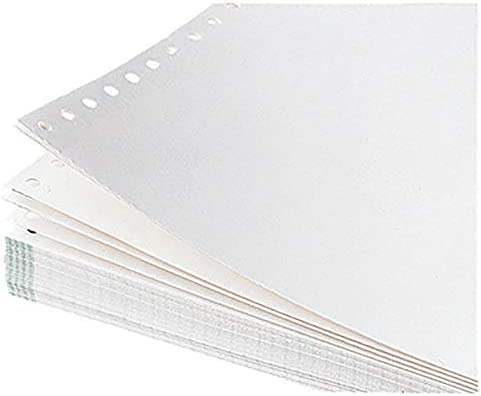 "SOE Computerpap. 5917 240mmx12"" 3fach hf m.Länggsperfor.blanco"