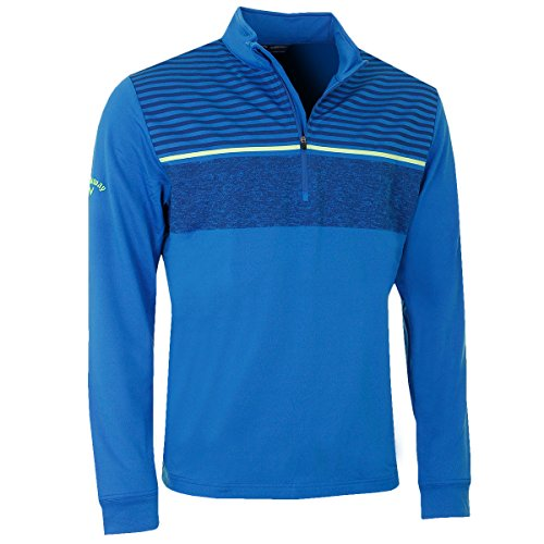Pullover Chest Blue Striped Callaway Mens Medium Magnetic CqTOxZF