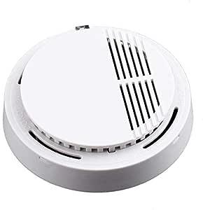 Home School Office Smoke-Detector Fire-Alarm Photoelectric Sensor [awd]
