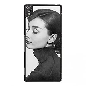 Audrey Hepburn Design Phone Case for Sony Xperia Z3 Audrey Hepburn Picture Cover