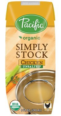 PACIFIC FOODS STOCK UNSALTED CHKN, 8 OZ (Pacific Chicken Stock compare prices)