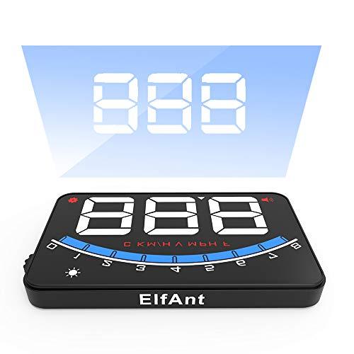 ElfAnt OBD2 Car Dash Board Head up Speedometers Digital Display