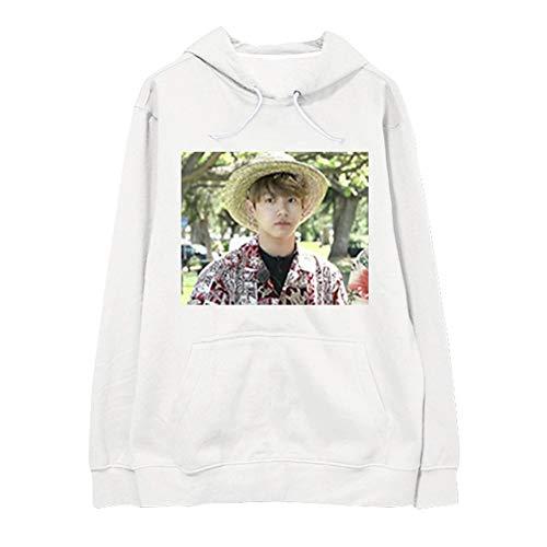 Kpop BTS Pullover Hoodie Bangtan Boys BTS Jungkook Funny Hawaii Meme Photo BTS Printed Sweater
