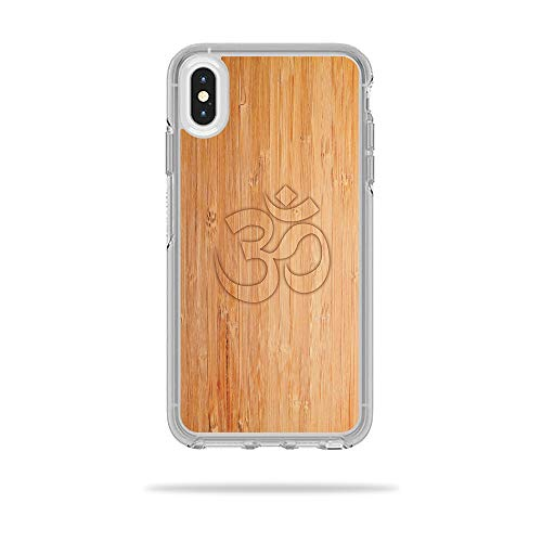 MightySkins Skin for OtterBox Symmetry iPhone Xs Max Case - Bamboo Ohm | Protective, Durable, and Unique Vinyl Decal wrap Cover | Easy to Apply, Remove, and Change Styles | Made in The USA