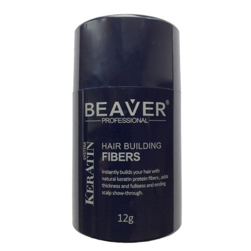 Beaver Professional Keratin Hair Building Fibers 12g (Available in 9 different colors) (Blonde)