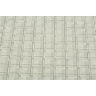 CO-Loft Super White 1x1 Polished (Sold by:SHEET) LFT1X1SPRWH