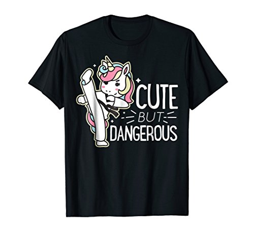 (Cute Dangerous Karate Taekwondo Shirt Funny Gifts)