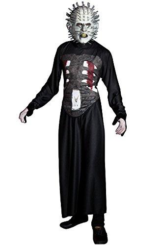 Halloween Pinhead Costume (Ghoulish Masks Adult Hellraiser III Pinhead Halloween Costume)