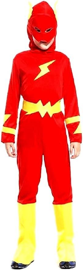 Disfraz flash - disfraz - carnaval - halloween - superhéroe ...