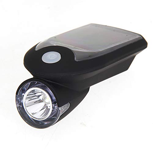HVBYHF 4 Light Modes Bicycle Headlight Waterpoof Cycling Headlight USB Rechargeable Bike Headlight for Safety Cycling,Black