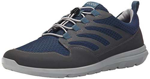 59552 Multicolore Blue Mocassini Black dark ECCO Shadow Denim Uomo Calgary RwxFHWnq1z