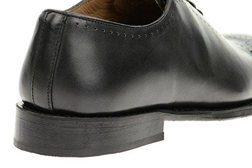 Gordon & BrosGordon & Bros Lorenzo Schuhe schwarz 201-013 - Zapatos Planos con Cordones Hombre Negro - negro