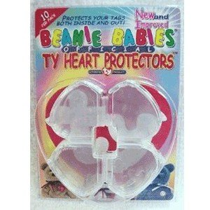 ty-beanie-babies-heart-tag-protector-pack-of-10