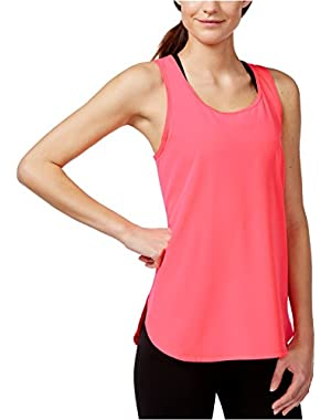 Calvin Klein Performance High-Low Tank Top Energy Small