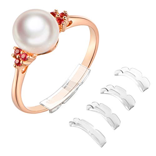 Coopache Invisible Ring Size Adjuster for Loose Rings - Ring Guard, Ring Sizer, 14 Sizes Fit for Man and Woman Ring [28pcs]