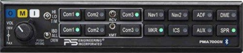 PS ENG PMA 7000m Mono Audio Panel W/ BT Unit Only Tsod - Aircraft Audio Panel