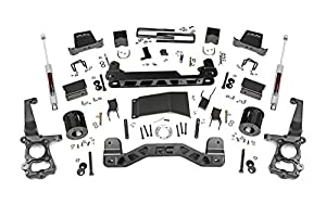 3. Rough Country - 557.22 - 6-inch Suspension Lift Kit w/ N3 Shocks
