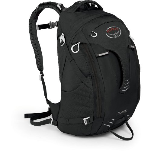 Osprey Packs Comet Daypack (Black, One Size), Outdoor Stuffs