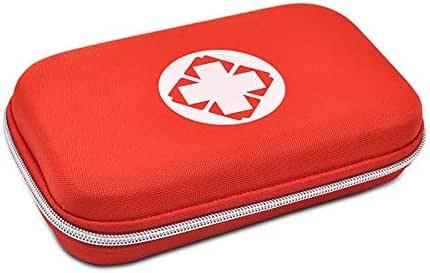 ZYDSD Estuche Rígido para Botiquín De Primeros Auxilios, Bolsa Médica, Bolsa De Equipo De Emergencia, Bolsa De Emergencia Médica Compacta Caja portátil de Primeros Auxilios (Color : Red): Amazon.es: Hogar