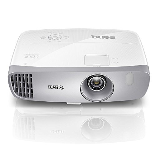 BenQ DLP HD 1080p Projector (HT2050A) - 3D Home Theater Projector, Low Input Lag, 2D Keystone with All-Glass Cinema Grade Lens and RGBRGB Color Wheel