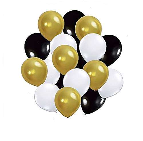 50th Wedding Anniversary Balloons (New 72 Pcs Balloons Pack by SAMIKA for Birthday Party,Baby Shower, Anniversary, Wedding Decor)