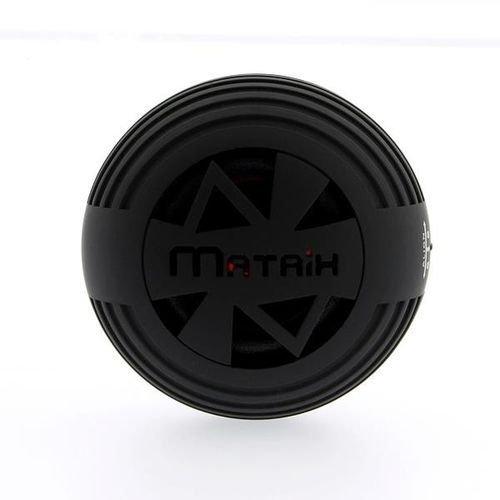 Matrix Audio MNRGBKM NRG Rechargeable 3W Pocket Speaker for iPhone/iPod/iPad - Retail Packaging - Black by Matrix Audio