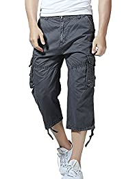 Men's Cotton Twill Relaxed Fit Cargo Short