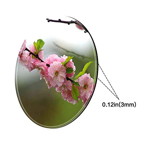 - Mouse Pad Round Mouse Pad Almond Almond Flowers Almond Twigs Flourishing #744169 Series 200mm3mm