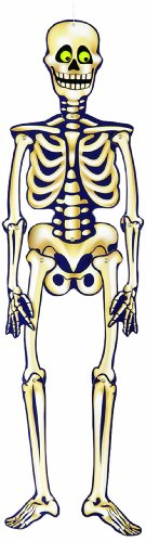 "35"" Hanging Jointed Skeleton Halloween Decoration"