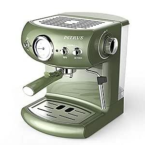 QAIYXM Máquina de café Espresso, cafetera de Capuchino, cafetera ...
