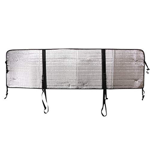 Fenteer Durable Nylon Polyester Heat-Resistant Waterproof Outdoor Mounted Air Conditioner Cover Protecting Cover - Silver, A