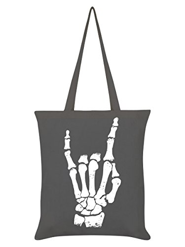 Messenger-Bag Rock Hand Graphite Grey Tote Bag 38 x 42 cm
