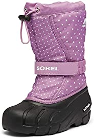 Sorel Youth Girl's Flurry Print Boot - Heavy Snow - Waterp