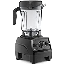 Vitamix Explorian Blender, Professional-Grade, 64 oz. Low-Profile Container, Black (Renewed) - 65542