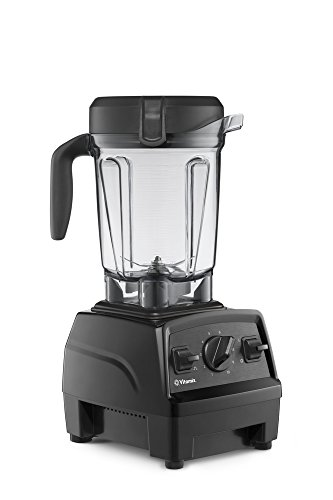 Vitamix Explorian Blender, Professional-Grade, 64 oz. Low-Profile Container, Black (Renewed) (Vitamix Blender 3600)