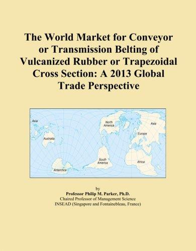 El mundo Mercado para cinta transportadora o transmisión Belting de o de goma vulcanizada trapezoidal Sección de Cruz: Una...