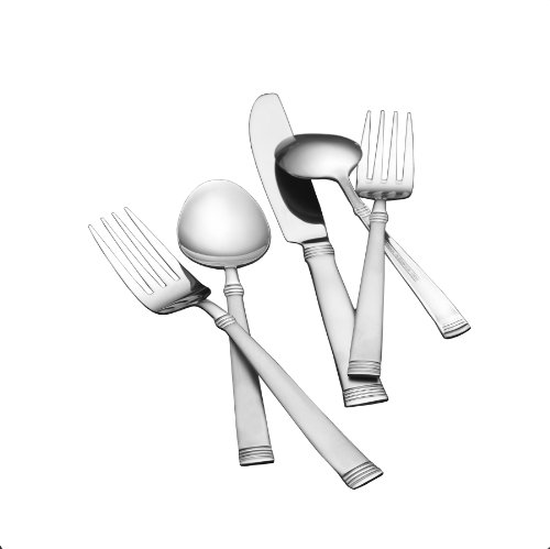 (Pfaltzgraff Parisian 20-Piece Flatware Set, Service for 4)