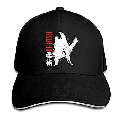 Brazilian Jiu-Jitsu Adjustable Baseball Caps Vintage Sandwich Hat