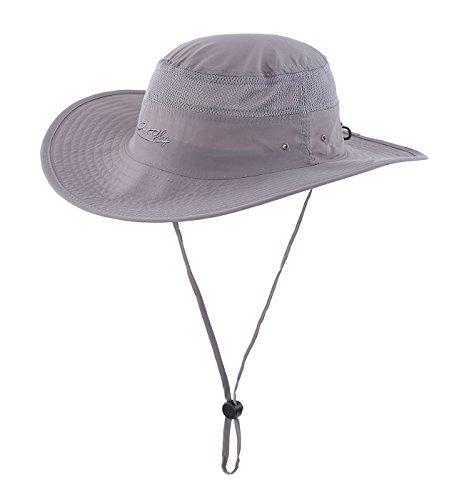 65f19d669e4d8c ... UPF 50+ Wide Brim Bucket Hat Windproof Fishing Hats. Asin: B01CR64XX4.  Most Popular Mens Sun Hats