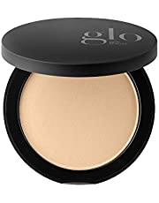 Glo Skin Beauty Pressed Base - Golden Medium   Mineral Pressed Powder Foundation   24 Shades, Buildable Coverage, Matte Finish