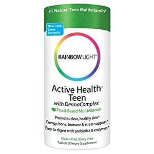 rainbow light active health teen with dermacomplex. Black Bedroom Furniture Sets. Home Design Ideas