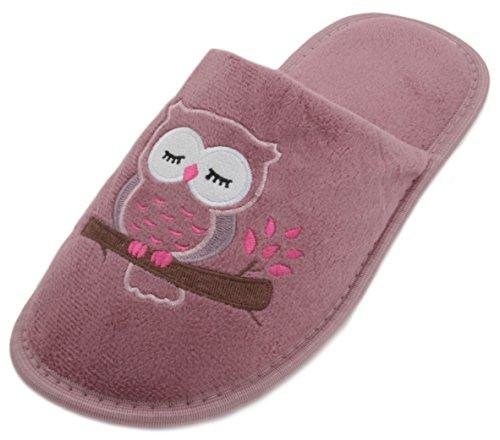 SlumberzzZ - Zapatillas de estar por casa de Material Sintético para mujer Rosa