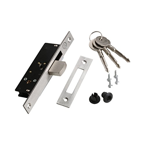 GLK 420LB Cerradura de Embutir, Gris Globallock