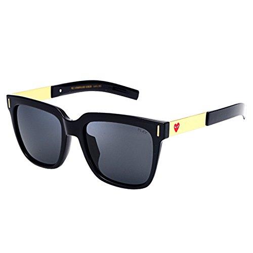Marea Los Las Cuadrados de Hombres Gafas Cara de Las Gafas de de WFL B la Personalidad la C Sol Que Sol Mm conducen de de atqw05xd