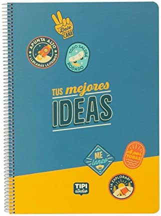 Notitieboek met spiraalbinding A4je beste ideen