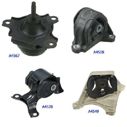 Amazoncom A A A A Fits Acura RSX TypeS - Acura rsx motor mounts