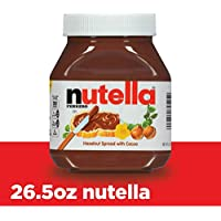 Nutella Chocolate Hazelnut Spread, Perfect Topping for Pancakes, 26.5 Ounce