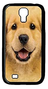 Cool Painting Samsung Galaxy I9500 Cases & Covers -Kids Golden Retriever Puppy Polycarbonate Hard Case Back Cover for Samsung Galaxy S4/I9500
